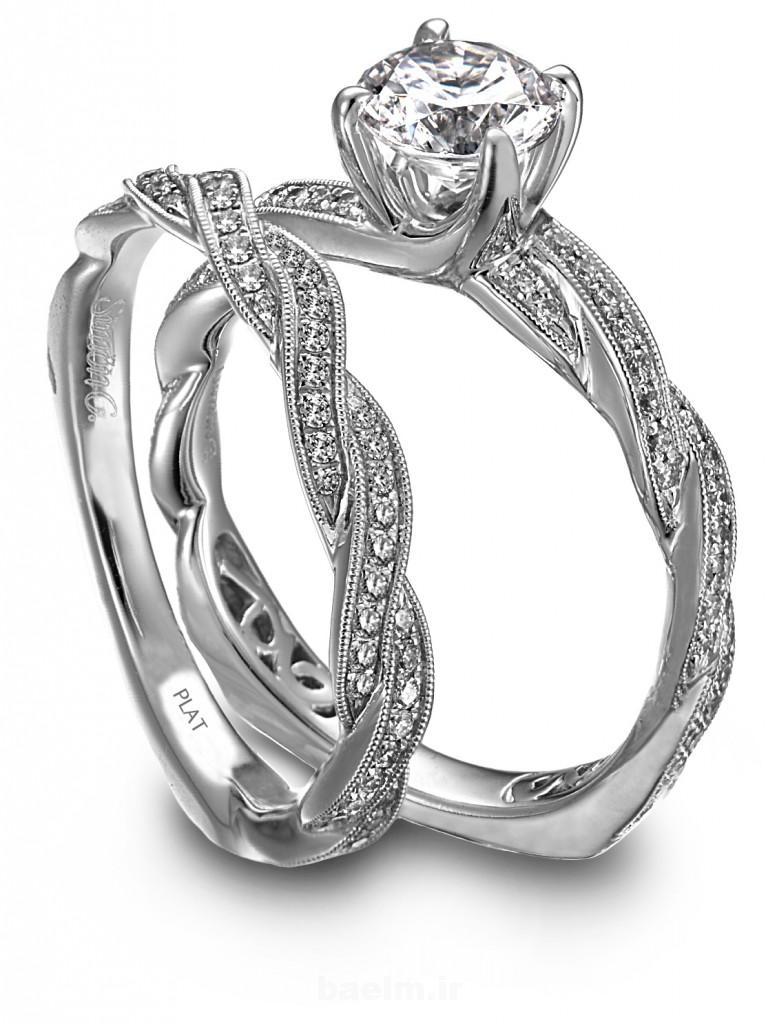 عقد و عروسی | عکسهای بسیار شیک و زیبا از ست حلقه های نامزدی