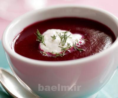 آموزش آشپزی | طرز تهیه سوپ خوشمزه لبو