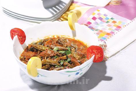 آموزش آشپزی | طرز تهیه خورش بامیه عربی