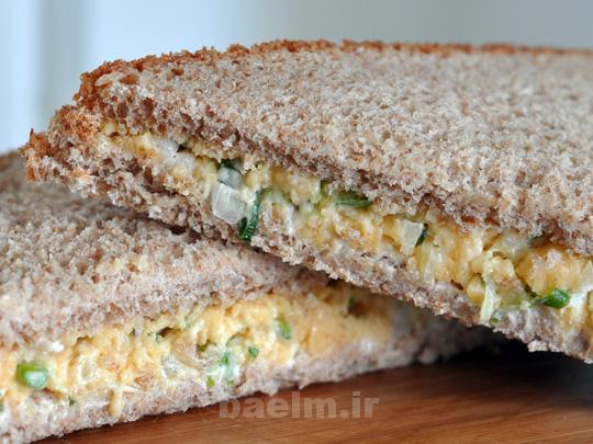 آموزش آشپزی | طرز تهیه صبحانه ساده با نان تست
