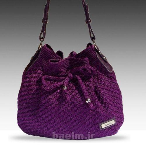 مدل کیف بافتنی,انواع کیف بافتنی,کیف بافتنی 2015