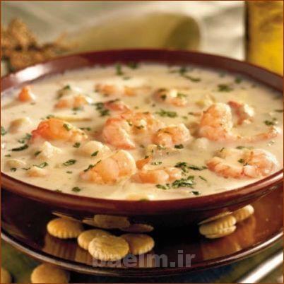 سوپ میگو ,تهیه سوپ ,طرز تهیه سوپ ,تهیه سوپ میگو ,انواع سوپ,آموزش آشپزی