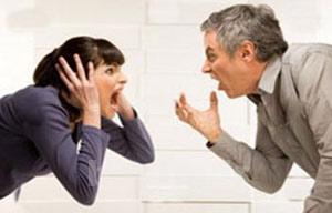 سبک دعوا بین همسران, مشاجرات همسران
