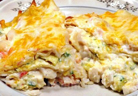 آموزش آشپزی | طرز تهیه لازانیای ماهی (بسیار مفید)