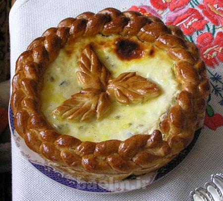 پخت نان پاسکا,طرز تهیه نان پنیری رومانی پاسکا