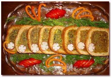 آموزش آشپزی | طرز تهیه کوکو سبزی در نان تست