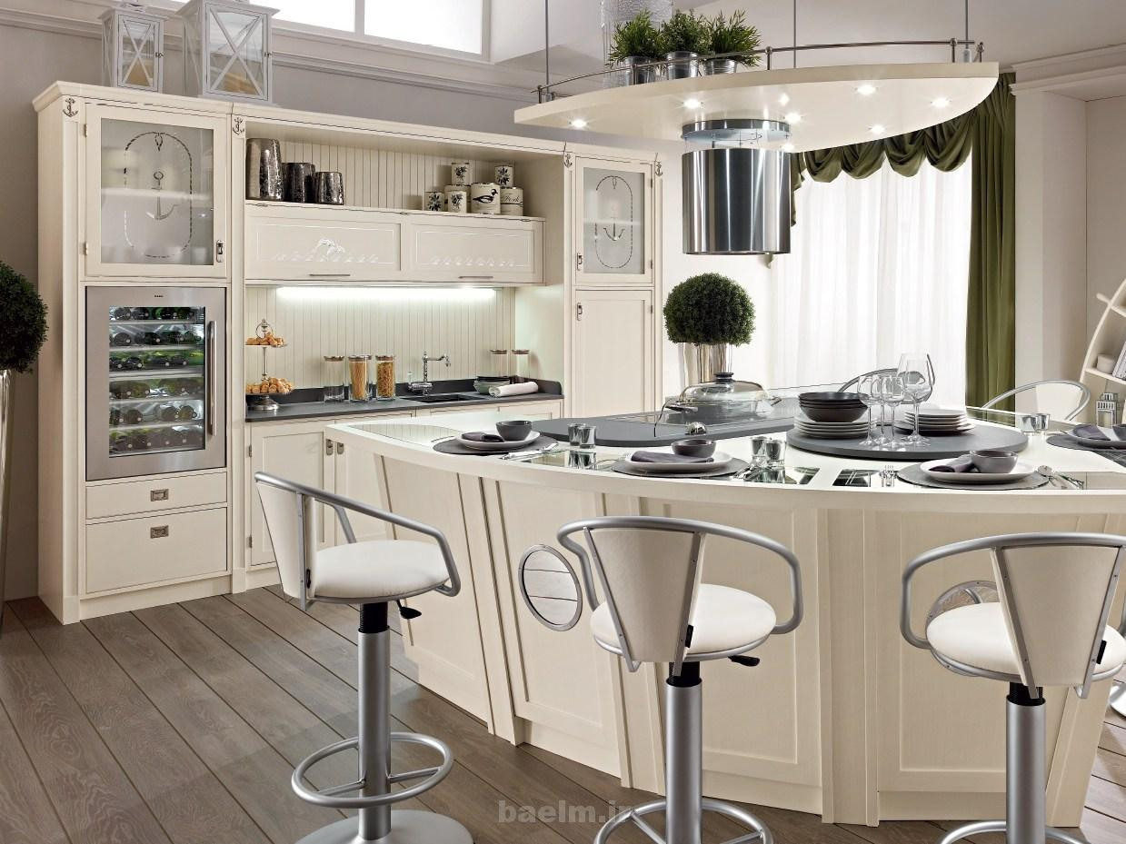 عکسهایی از چیدمان آشپزخانه های اپن مدرن دنیا(سري 2)