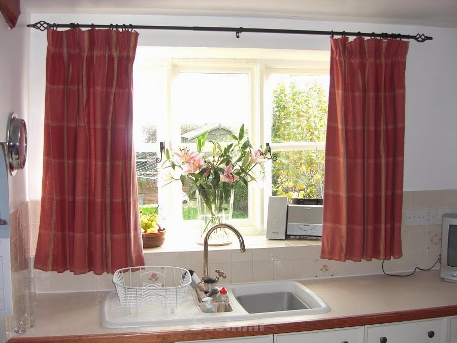 kitchen window curtains 18 Kitchen Window Curtains