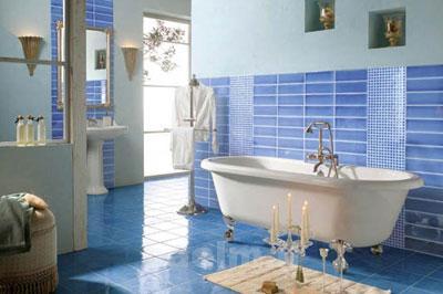 راهنماي استفاده از كاشي و سراميك براي طراحي حمام شيك و زيبا