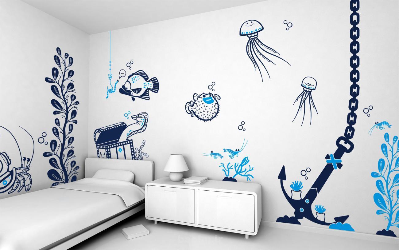 most beautiful wall stickers 11 Most Beautiful Wall Stickers