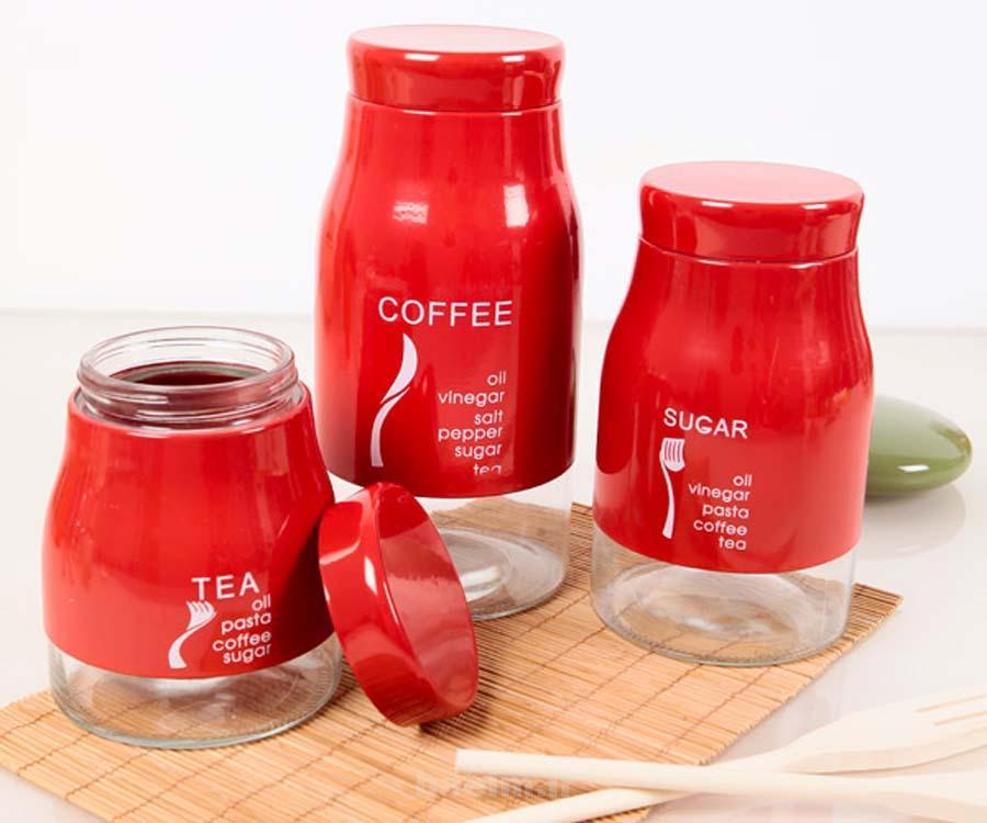 red kitchen accessories 7 Red Kitchen Accessories