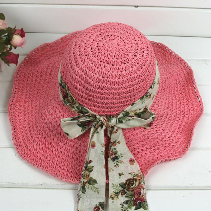 عکسهایی از مدل های زیبای کلاه حصیری تابستانه مخصوص بانوان