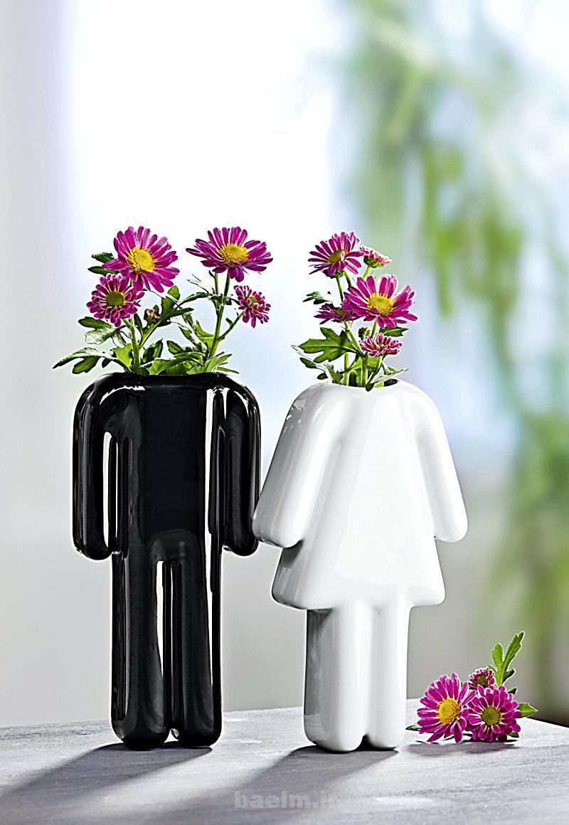 مد و زیبایی | طرح های بسیار زیبا از گلدان های رومیزی