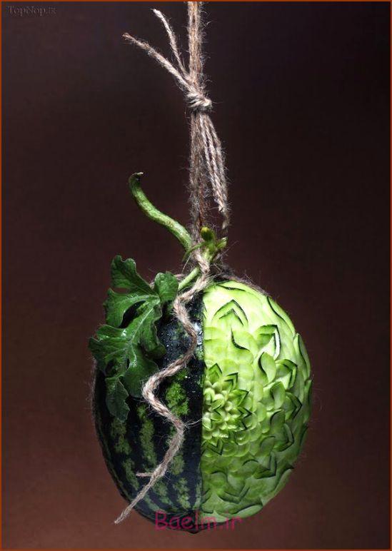 میوه آرایی جالب, میوه آرایی جالب و دیدنی, عکس میوه آرایی