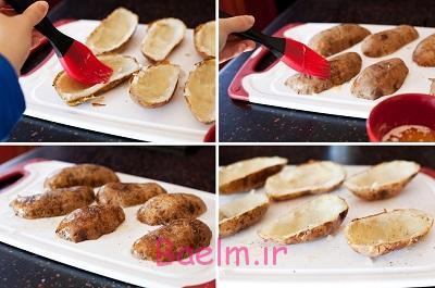 آموزش آشپزی | طرز تهیه سیب زمینی شکم پر (بسیار خوشمزه)