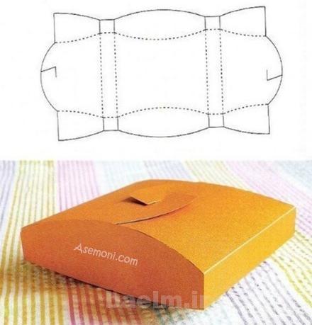 Gift Box 1 آموزش ساخت جعبه های کادویی