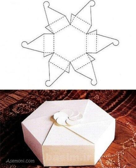 Gift Box 3 آموزش ساخت جعبه های کادویی