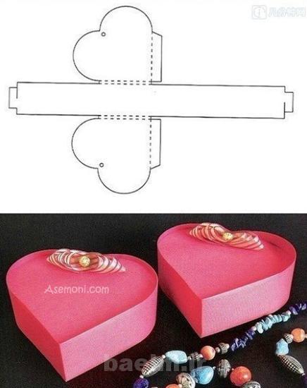 Gift Box 6 آموزش ساخت جعبه های کادویی