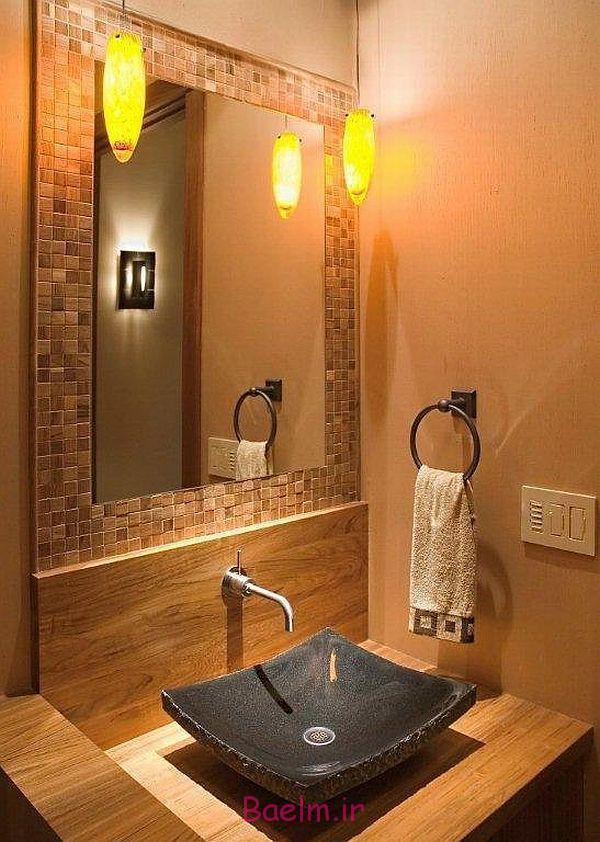 عکس هایی از دکوراسیون و لوازم تزئینی حمام اروپایی بسیار زیبا(سری 2)