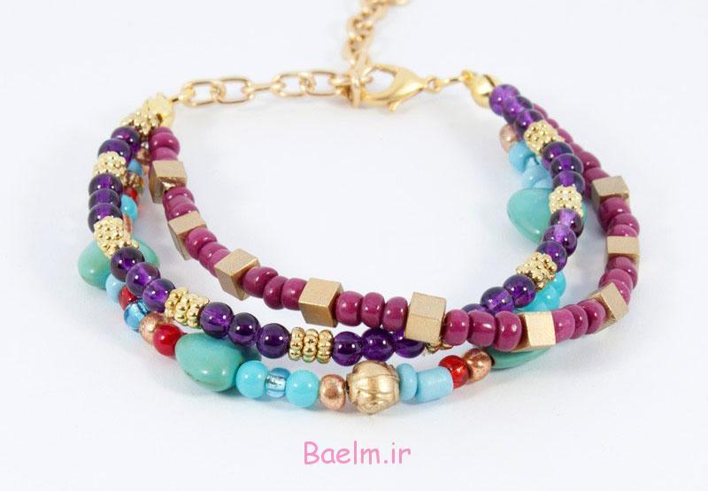 beaded bracelets 6 Beautiful Beaded Bracelets