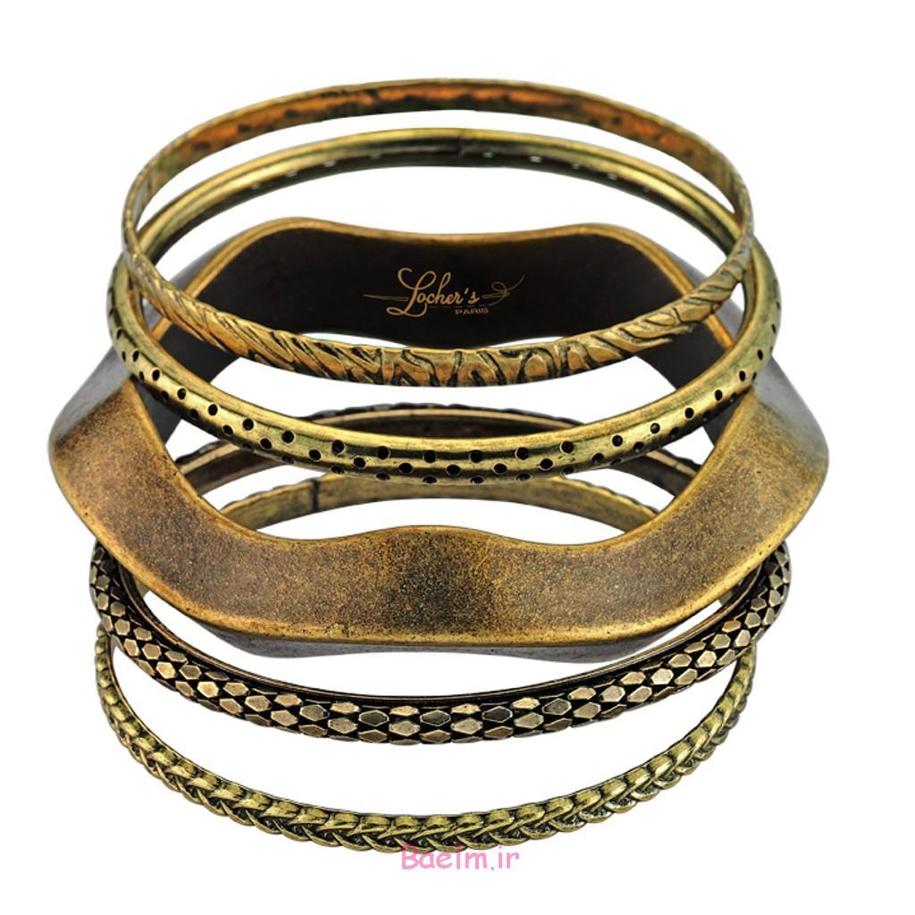 عکس هایی از طرح های دستبند تهیه شده از مس (زیبا)