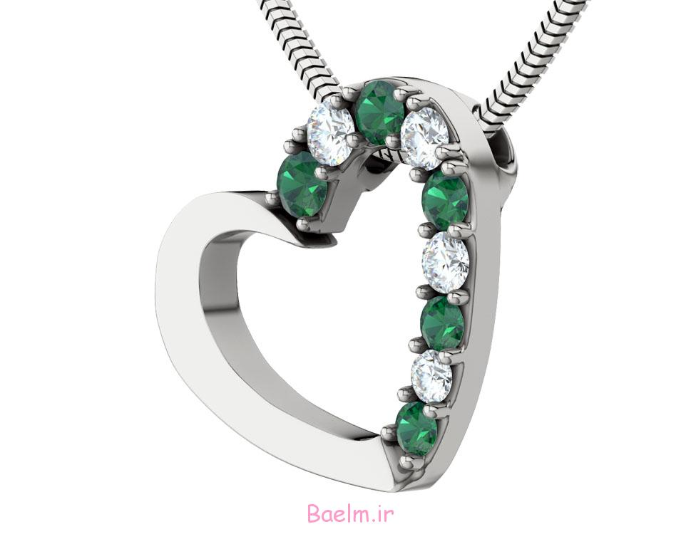 emerald necklace designs 10 Emerald Necklace Designs