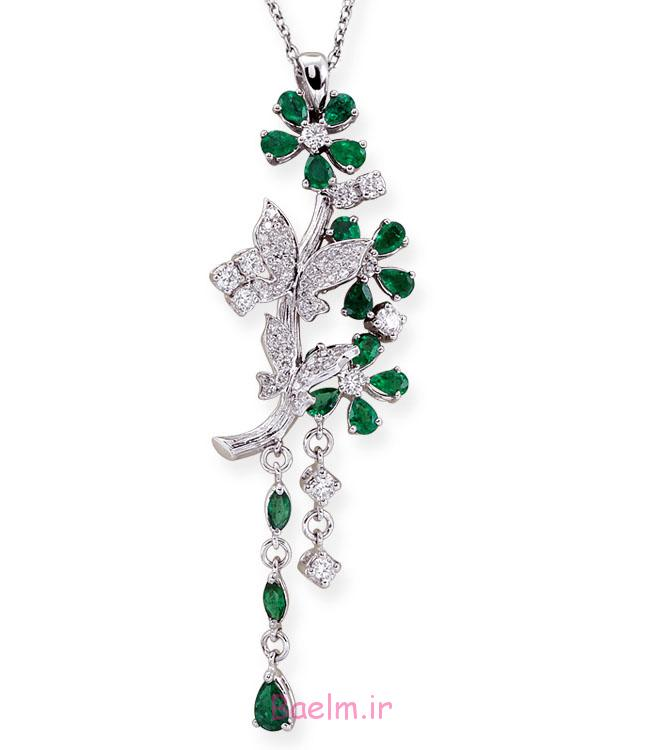 emerald necklace designs 15 Emerald Necklace Designs