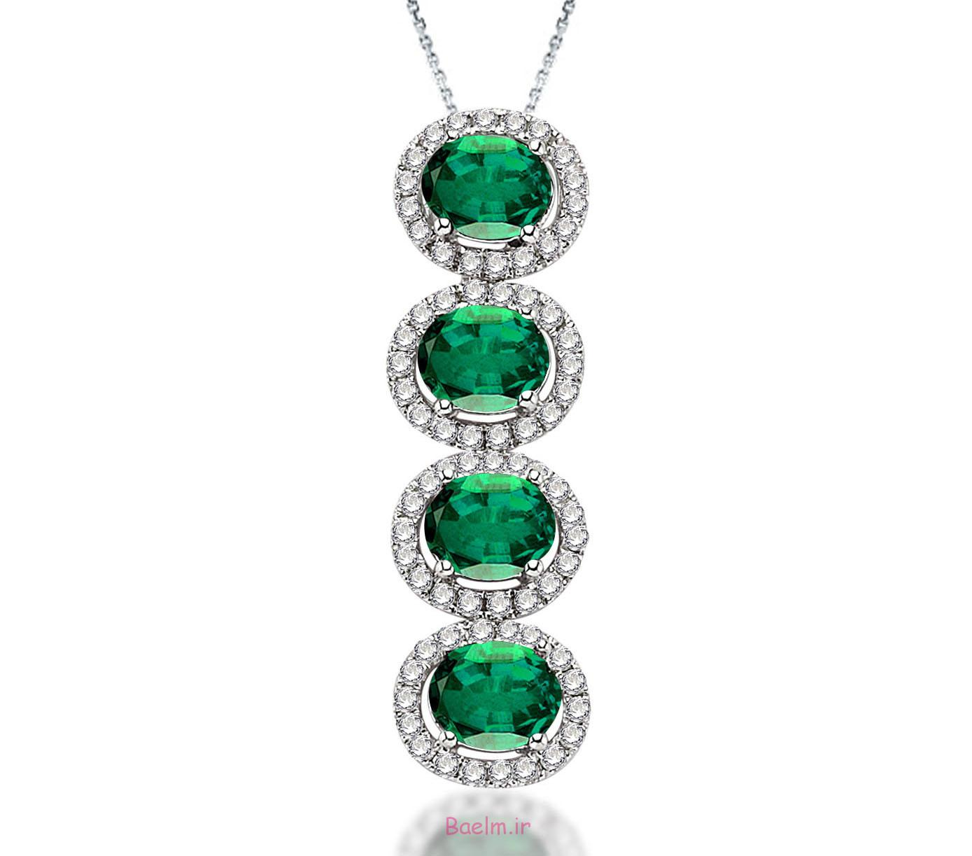 emerald necklace designs 7 Emerald Necklace Designs