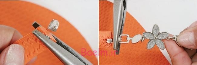 flip-flops-crafts-tutorial-orange-rubber-sandals-beads-chains2