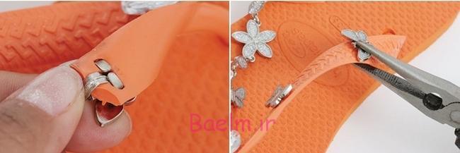 flip-flops-crafts-tutorial-orange-rubber-sandals-beads-chains6
