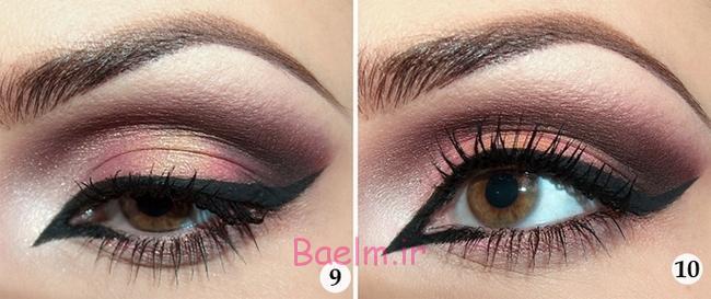 halloween-makeup-ideas-tutorial-orient-lady-exotic-antique-pink5