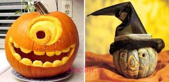 عکس های تزئین کدوتنبل برای روز هالووین (واقعا خنده دار) سری 4