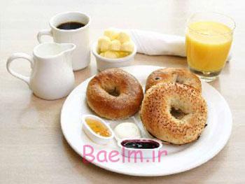 راههای کاهش وزن, صبحانه مناسب