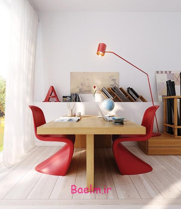 عکس هایی از طراحی و دکوراسیون دفتر یا اتاق کار(اروپایی)