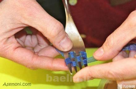 making a bow tie 3 ساخت پاپیون برای کارت پستال