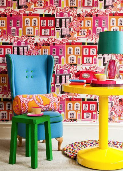 most colorful home wallpapers 8 Most Colorful Home Wallpapers