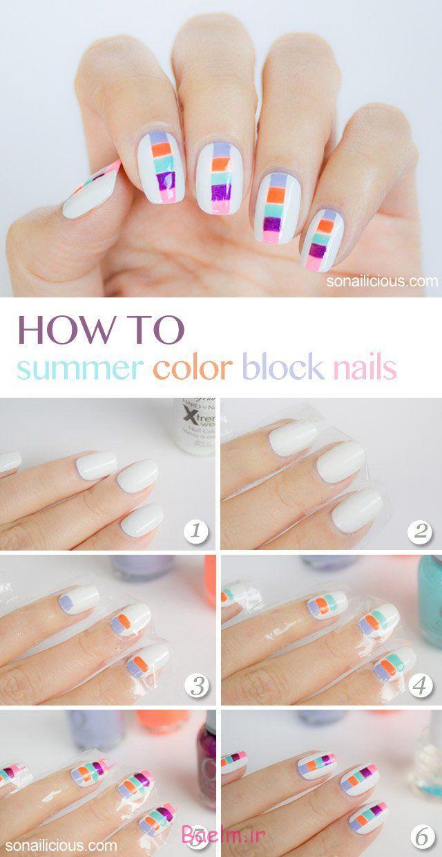 -nail هنر، آموزش
