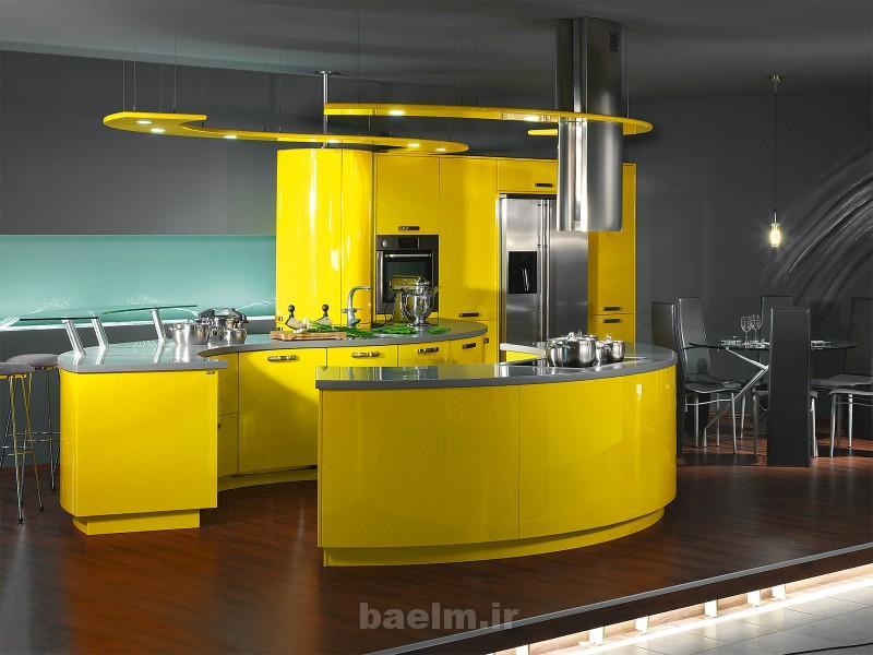 عکس هایی از دکوراسیون و چیدمان خانه با رنگ زرد(بسیار شیک)