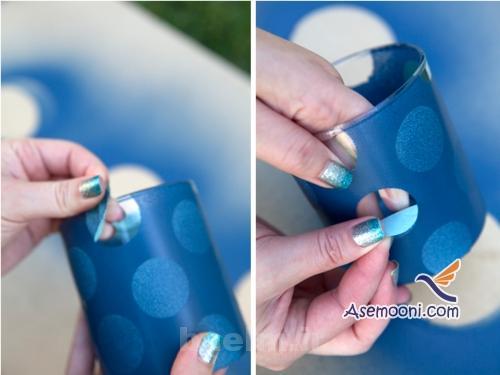 patineh10 آموزش پتینه روی ظروف شیشه ای