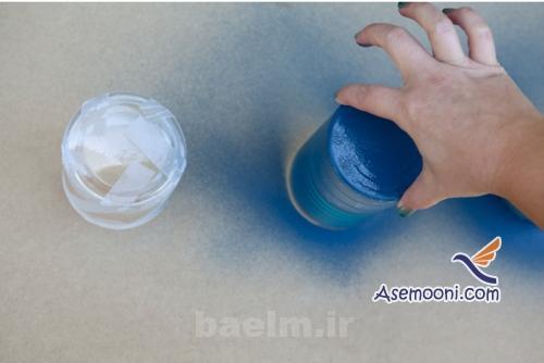 patineh6 آموزش پتینه روی ظروف شیشه ای