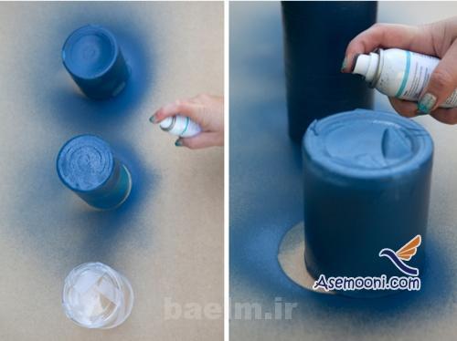 patineh7 آموزش پتینه روی ظروف شیشه ای