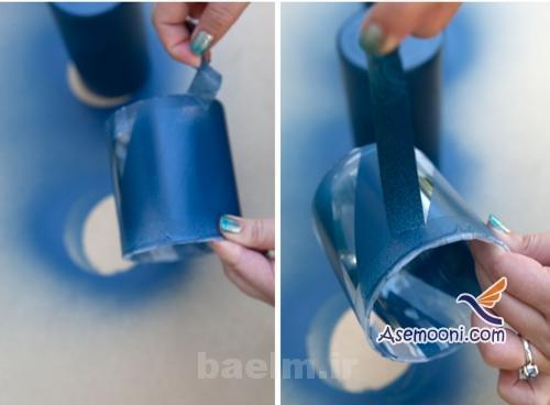 patineh8 آموزش پتینه روی ظروف شیشه ای