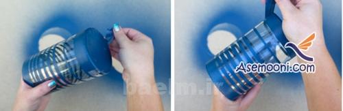 patineh9 آموزش پتینه روی ظروف شیشه ای