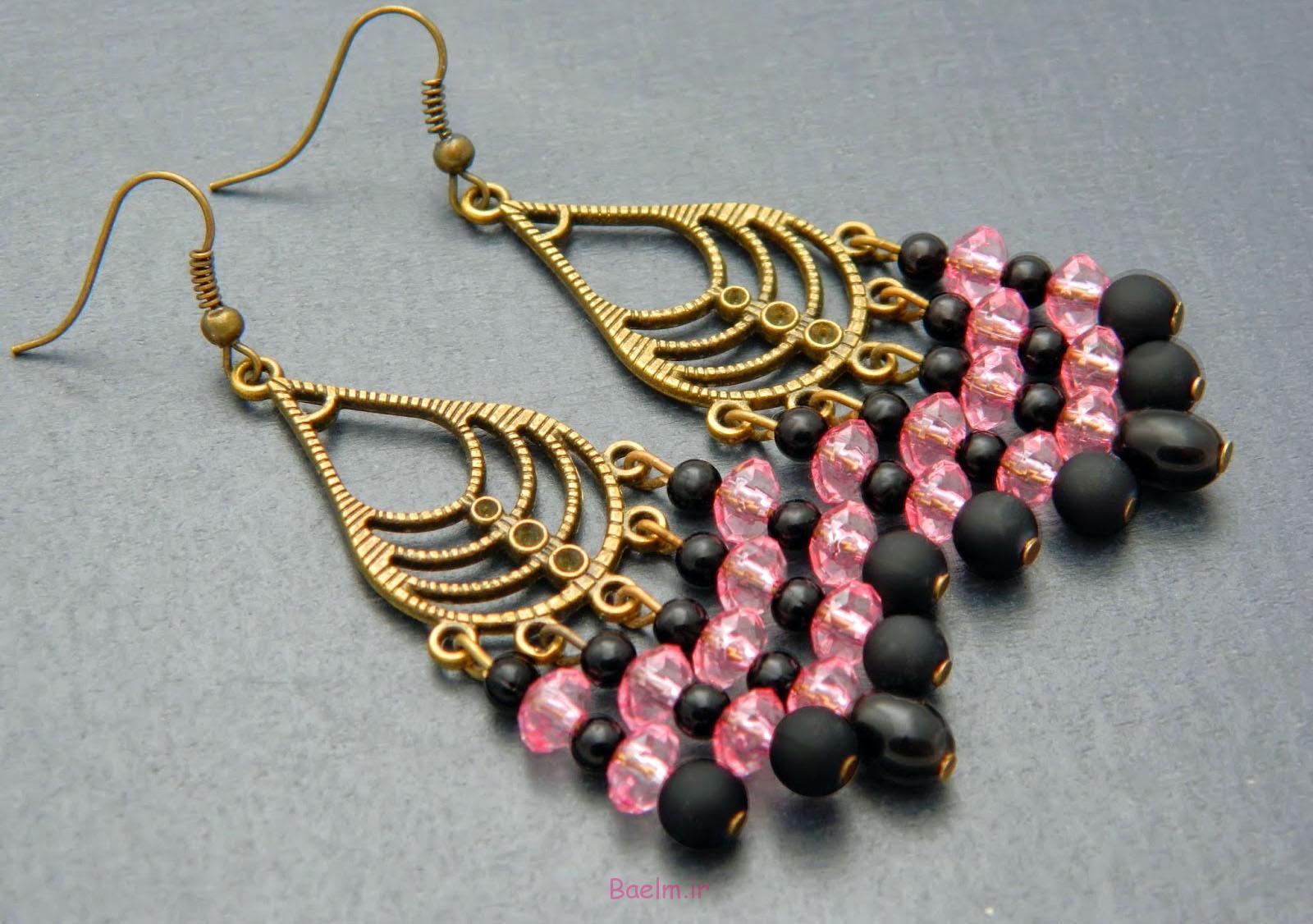 pink earring designs 1 Pink Earring Desings