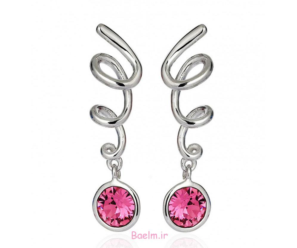 pink earring designs 10 Pink Earring Desings