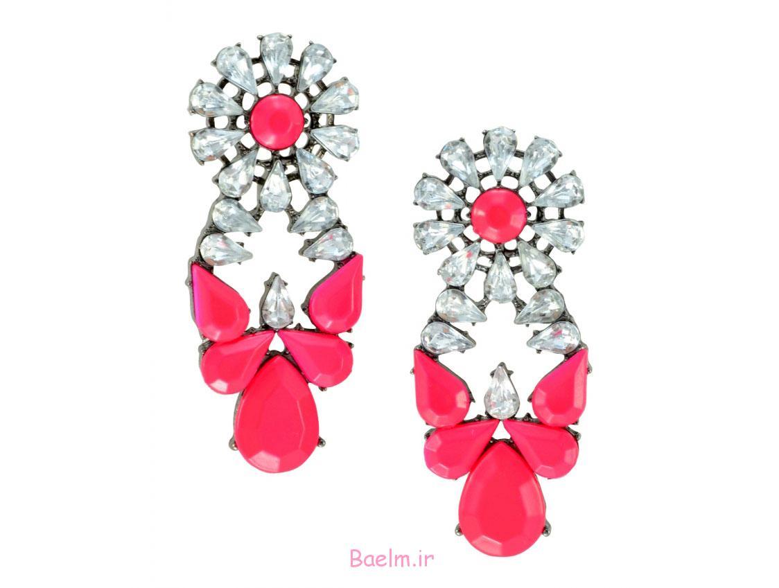 pink earring designs 11 Pink Earring Desings