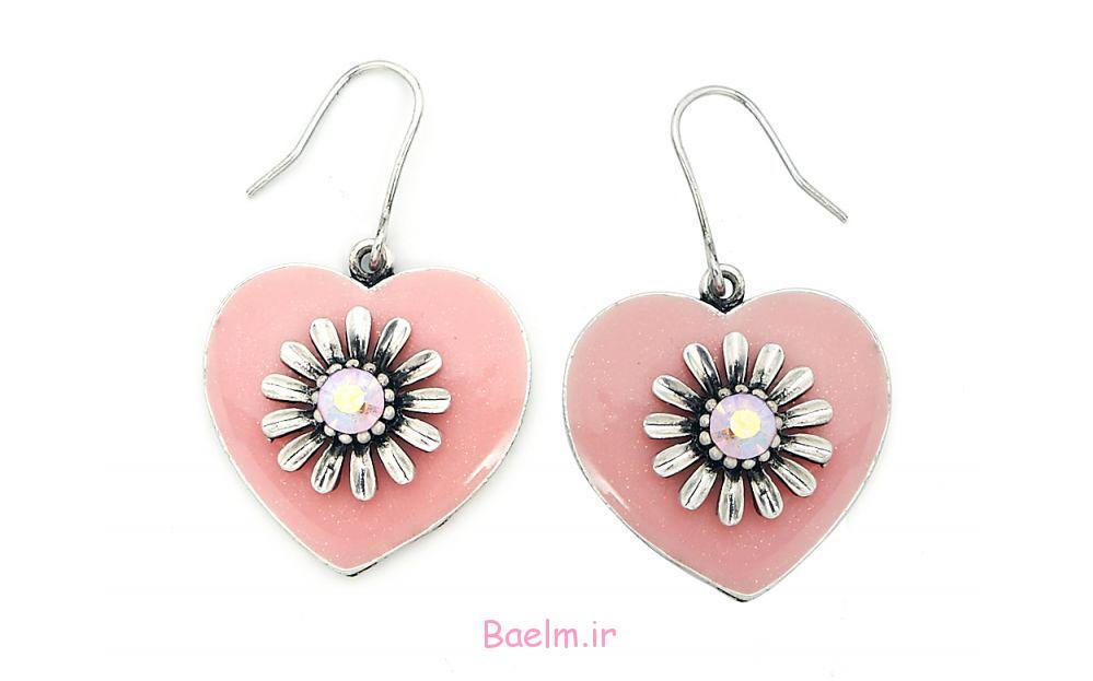 pink earring designs 12 Pink Earring Desings
