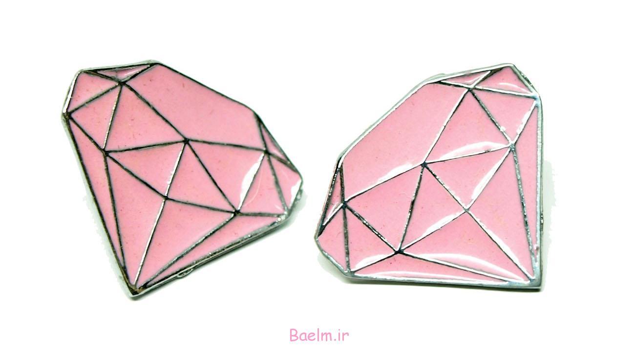 pink earring designs 14 Pink Earring Desings