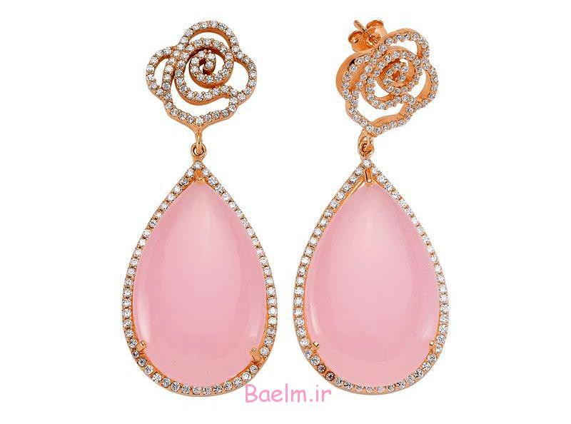 pink earring designs 15 Pink Earring Desings