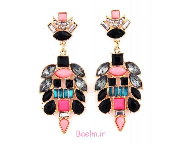pink earring designs 16 Pink Earring Desings